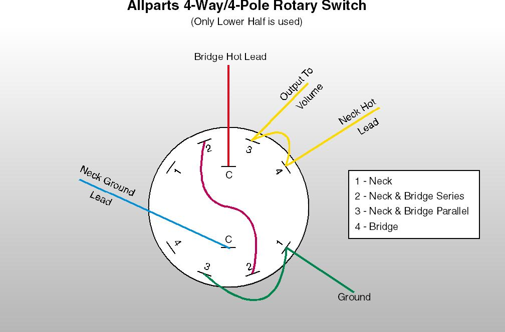 rotary 4 way switch wiring diagram example electrical wiring diagram \u2022 Curt Brake Controller Wiring Diagram at Pole Diagram For A 4 Position Wiring